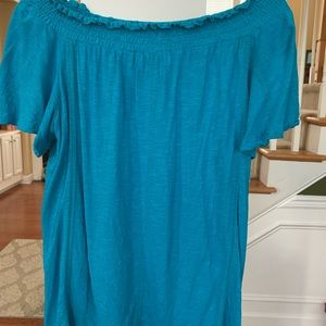 Chico's Teal top with matching tank